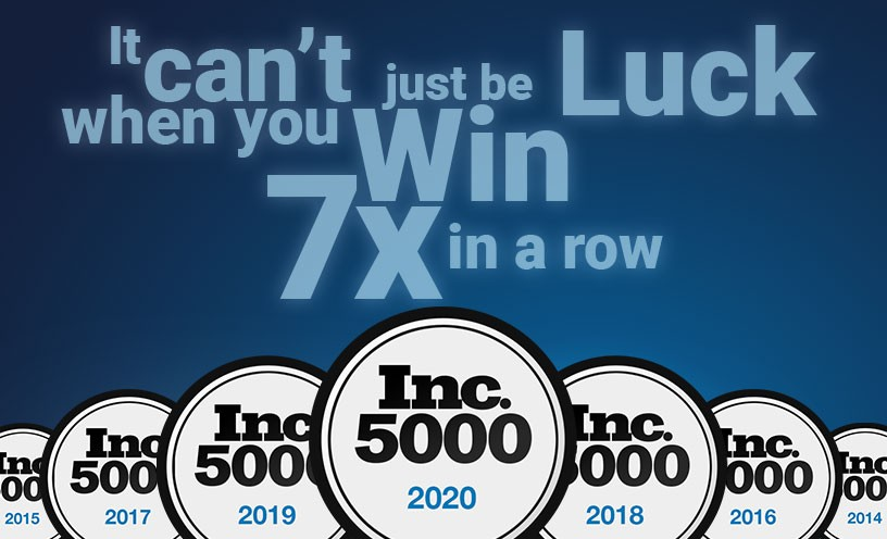 7x Inc. 5000 Honoree