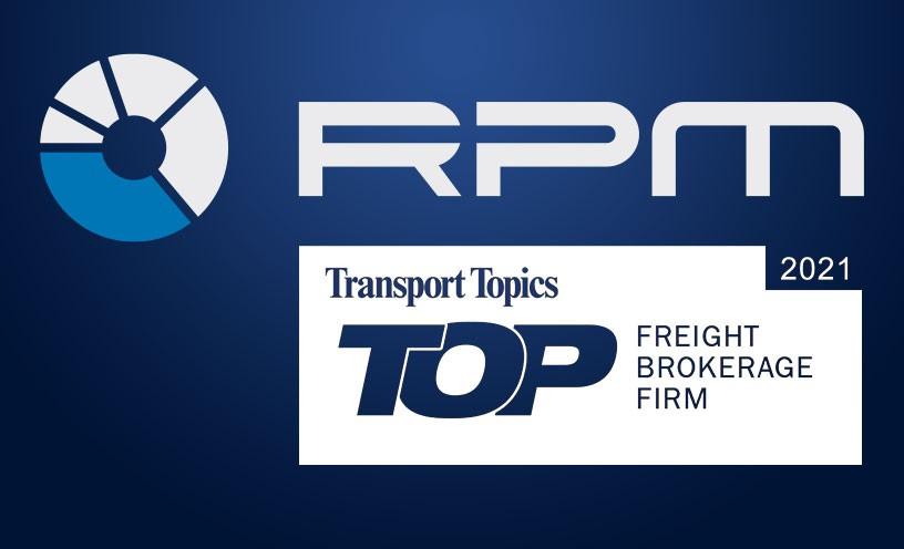 RPM Makes Transport Topics' Top Freight Brokerage List