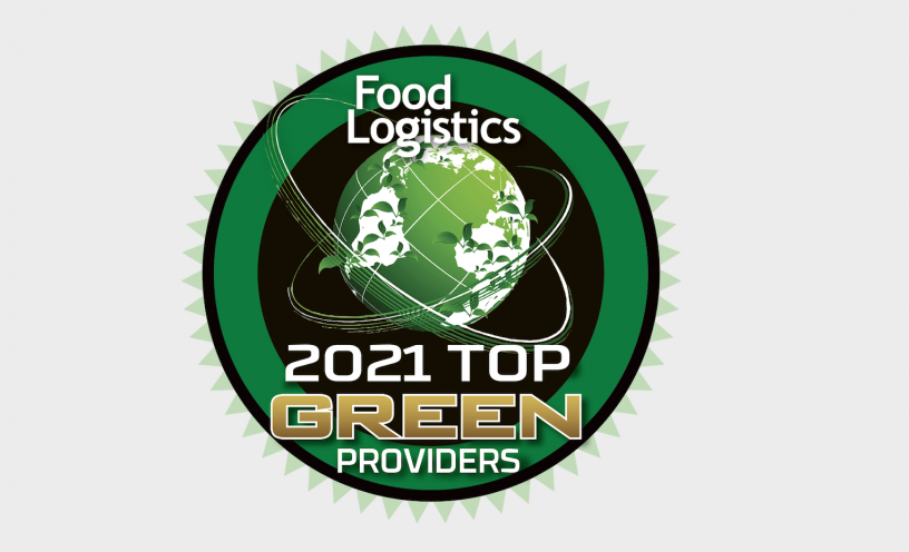 RPM named 2021 Top Green Provider by Food Logistics